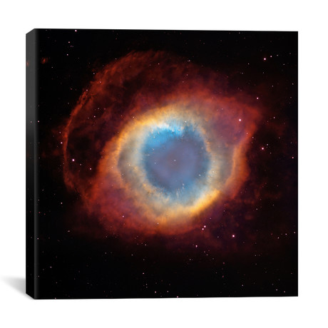 "Helix (Eye of God) Nebula (Hubble Space Telescope) // NASA (26""W x 26""H x 1.5""D)"