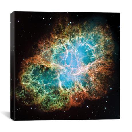 """Extreme Detail, Crab Nebula, Messier 1 // NASA (26""""W x 26""""H x 1.5""""D)"""
