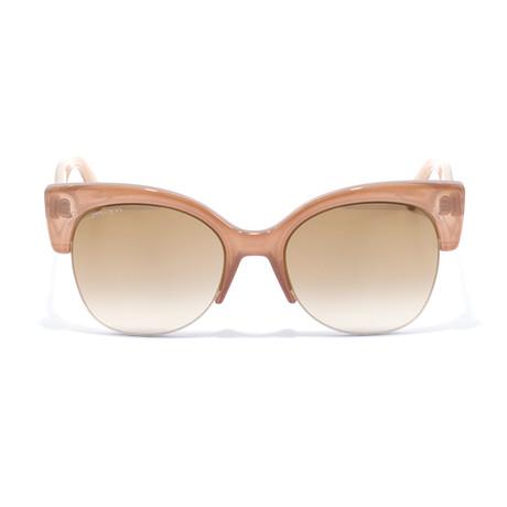 Women's Priya Sunglasses // Nude + Nude Glitter