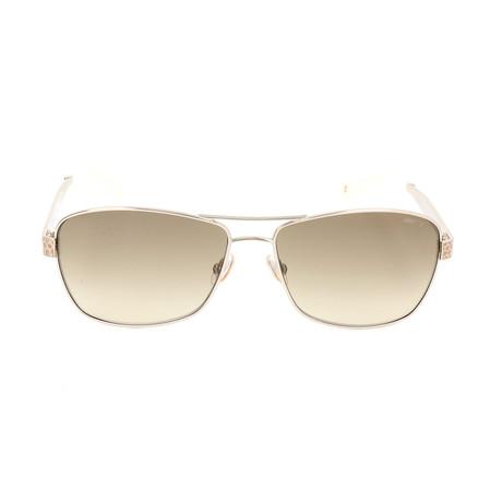 Women's Cris Sunglasses // Light Gold