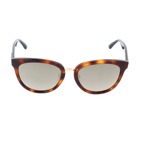 Women's Cade Sunglasses // Havana + Camel Glitter