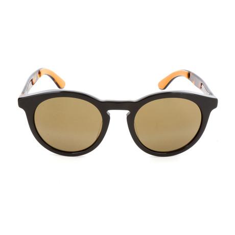 Men's Albert Sunglasses // Black + Havana + Brown