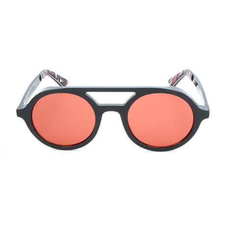 Men's Bob Sunglasses // Gray + Red