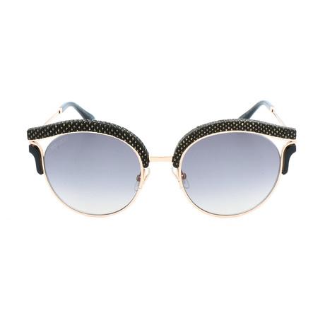 Women's Lash Sunglasses // Gold + Black