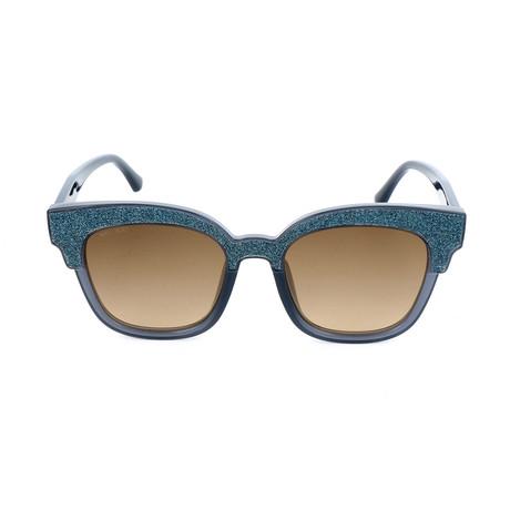 Women's Mayela Sunglasses // Gray + Gray Glitter