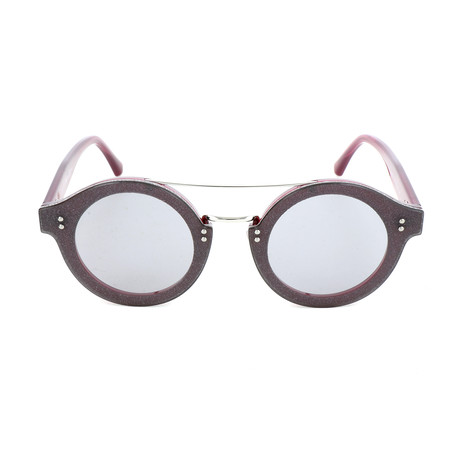 Women's Montie Sunglasses // Plum + Palladium Glitter