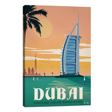 "Dubai // IdeaStorm Studios (26""W x 40""H x 1.5""D)"