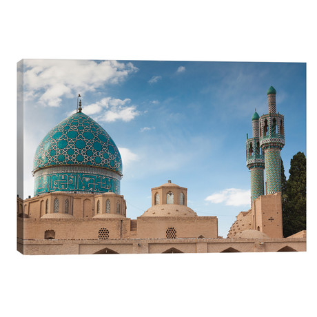 "Iran, Mahan, Aramgah-E Shah Nematollah Vali, Mausoleum Of Sufi Dervish Shah Nematollah Vali // Walter Bibikow (40""W x 26""H x 1.5""D)"