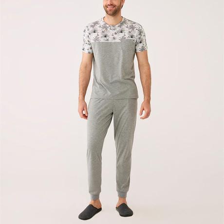 Pajamas Set of 3 // Gray Melange (S)
