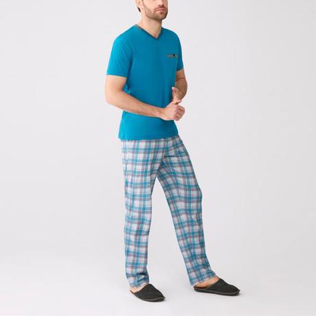 Pajamas // Set of 3 // Turquoise (S)