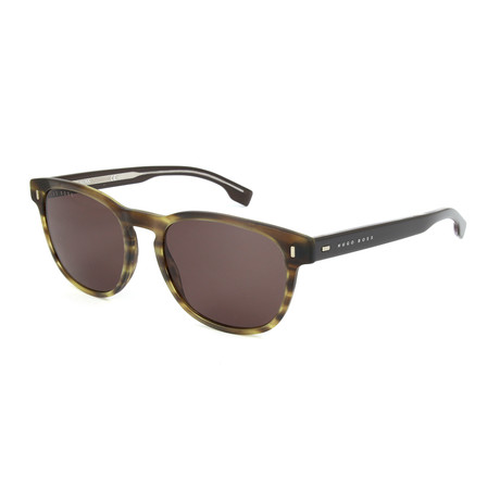 Men's 0927 Sunglasses // Matte Brown Hornwalnut