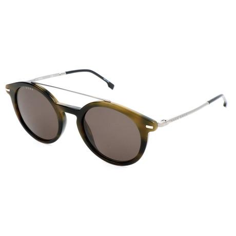 Men's 0929 Sunglasses // Khaki + Dark Havana