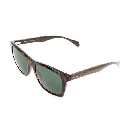 Men's 0911 Sunglasses // Havana + Crystal Brown