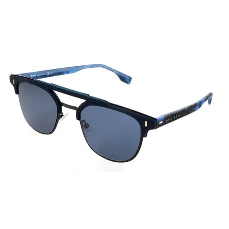 Men's 0968 Sunglasses // Matte Blue