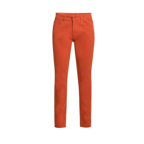 714 Skinny Jeans // Brick (28WX30L)