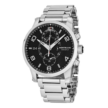 Montblanc Timewalker Chronograph Automatic // 104286 // Pre-Owned