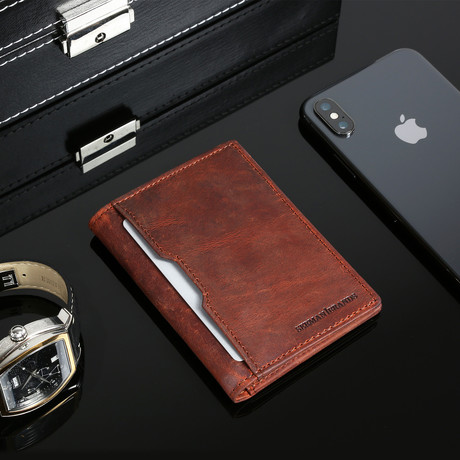 5.S Wallet // Canyon Red