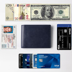 Executive Wallet // Luxe Blue