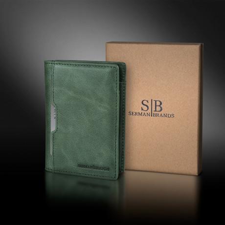 5.S Wallet // Alpine Green