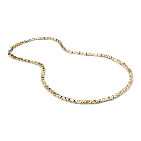 Polished Clipper Chain // Gold Plated