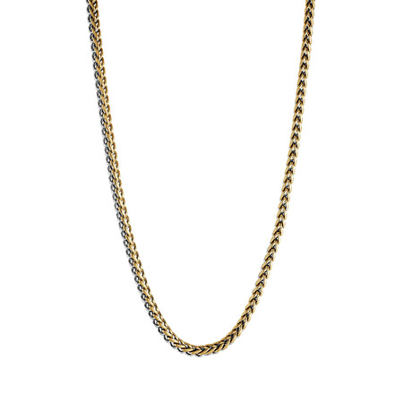 "Polished Round Franco Chain // Gold Plated (22"")"