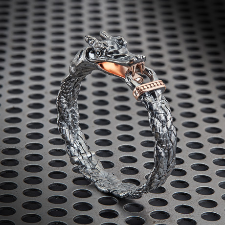 Dragon Bracelet // Black (XS)