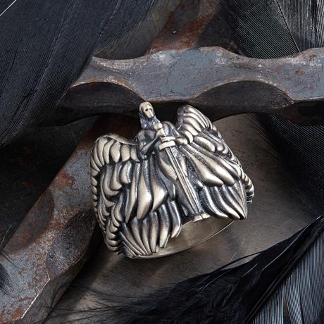 Angel Ring // Black + Silver (10)