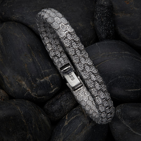 Snake Bracelet V1 // Black (XS)