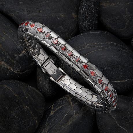 Snake Bracelet V2 // Black (XS)