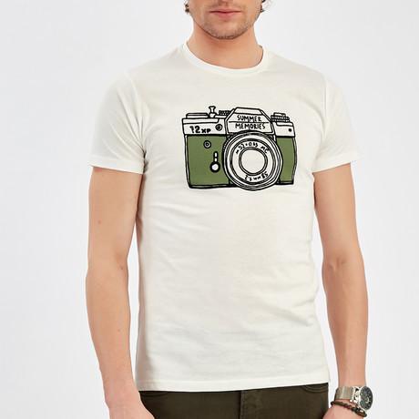 Camera T-Shirt // Ecru (S)