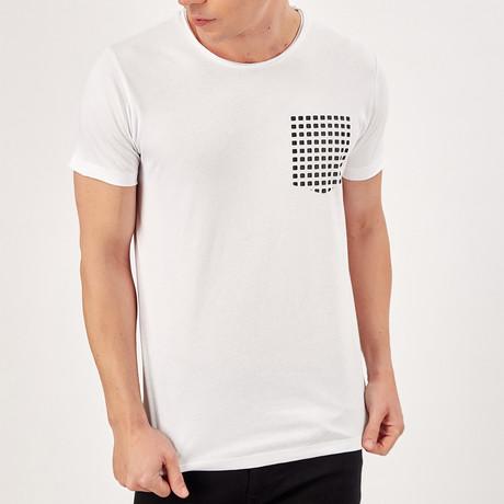 Pocket Detail T-Shirt // White (S)