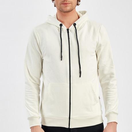 Zip Up Jacket // Ecru (S)