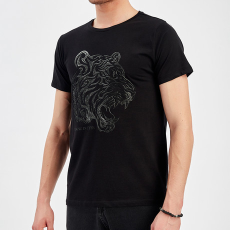 Tiger T-Shirt // Black (S)