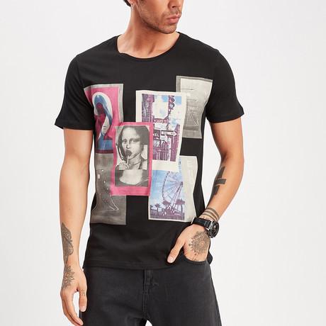 Graphic T-Shirt // Black (S)