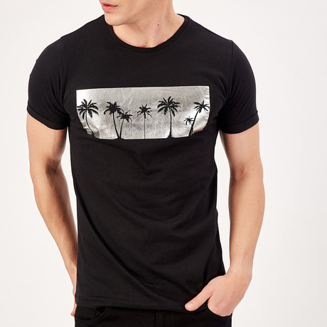 Palms T-Shirt // Black (S)