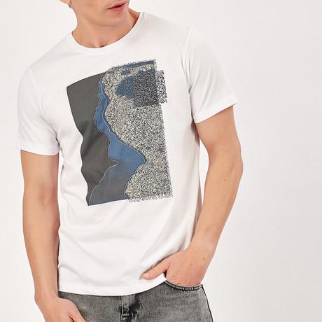 Geometric T-Shirt // White (S)