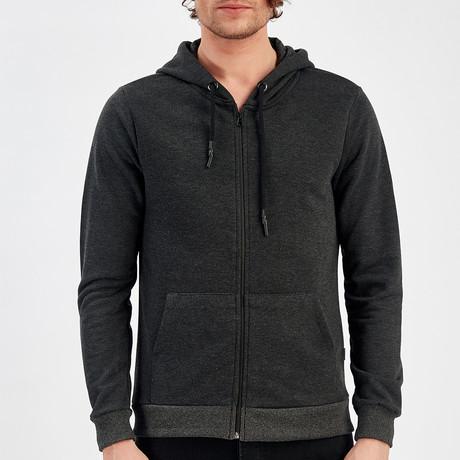 Zip Up Jacket // Anthracite (S)