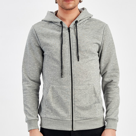 Zip Up Jacket // Gray (S)