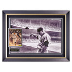 Mickey Mantle // Bad Day At the Ballpark // Signed