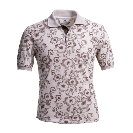 Jaden Polo Shirt // Tan (S)