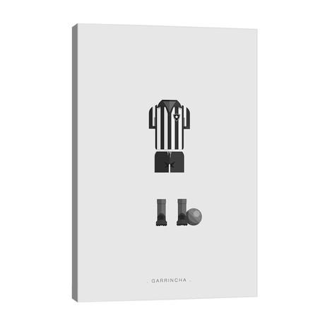 """Garrincha // Fred Birchal (26""""W x 40""""H x 1.5""""D)"""