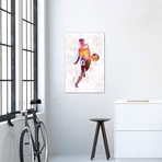 "Man Soccer Football Player X // Paul Rommer (26""W x 40""H x 1.5""D)"