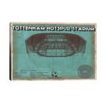 """London Tottenham Hotspur Stadium // Cutler West (40""""W x 26""""H x 1.5""""D)"""