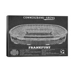 "Frankfurt Commerzbank Arena In Team Colors // Cutler West (40""W x 26""H x 1.5""D)"