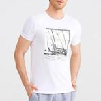 Worldwide Adventure T-Shirt // White (M)