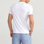Texture T-Shirt // White (XL)