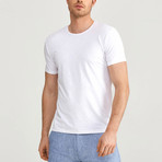 Texture T-Shirt // White (S)