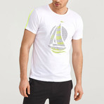 Sailboat T-Shirt // White (XL)