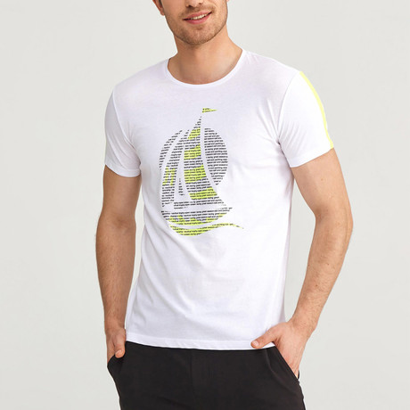 Sailboat T-Shirt // White (S)