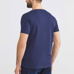Experienced Navigation Sailing T-Shirt // Navy (S)